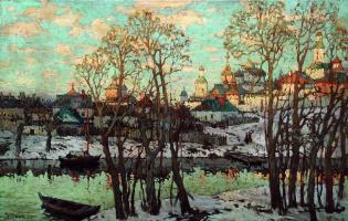 Konstantin Ivanovich Gorbatov. The urban landscape