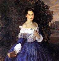 Константин Андреевич Сомов. Дама в голубом