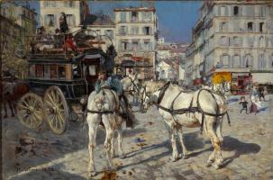 Джованни Больдини. Вид улицы