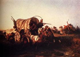 Карл Фердинанд Вимар. Нападение на поезд эмигрантов