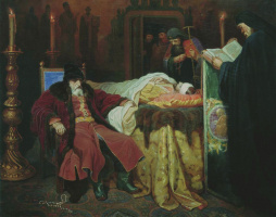 Vyacheslav Grigorievich Schwartz. Ivan the terrible at the body of the murdered son