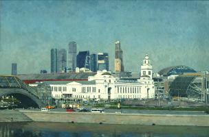 Василий Васильевич Куракса. Kiev railway station