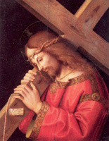 Марко Палмеззано. Иисус с крестом