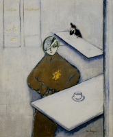Кес Ван Донген. Дамы в кафе