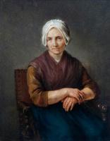 Герард Терборх (тер Борх). Портрет сидящей крестьянки