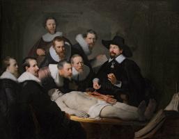 Рембрандт Ван Рейн. Урок анатомии доктора Тульпа