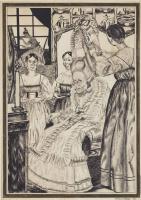 Василий Иванович Шухаев. Иллюстрация к «Пиковой даме». 1922