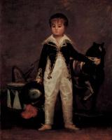 Франсиско Гойя. Портрет Хосе Коста-и-Бонелиса по прозвищу Пепито