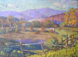 Yosif Josifovich Garani. Autumn landscape
