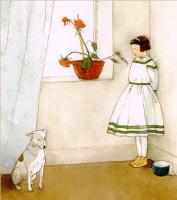 Лизбет Цвергер. Роза в горшке
