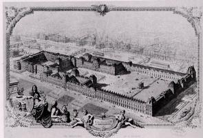 Р Пфнор. Первоначальная крепость Лувр
