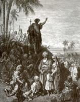 Поль Гюстав Доре. Иллюстрация к Библии: Иоанн Креститель