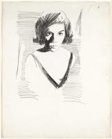 Энди Уорхол. Портрет женщины