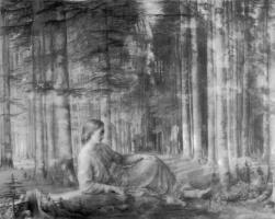 Луи Жанмо. В лесу