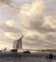 Саломон Якобс ван Рейсдал. Морской пейзаж
