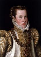 Антонис ван Дасхорст Мор. Мария Португальская, герцогиня Пармы