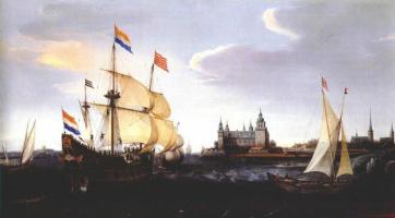 Хендрик Врум. Голландские корабли