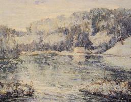 Эрнест Лоусон. Зима