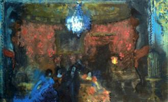 Николай Николаевич Сапунов. Пляска смерти. На сюжет одноименной пьесы Ф. Ведекинда