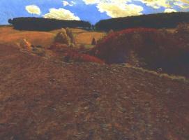 Пал Синьеи-Мерше. Осенний пейзаж