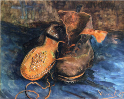 Vincent van Gogh. Pair of shoes