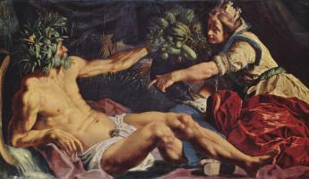 Абрахам Янсенс. Скальд и Антверпия