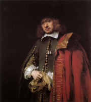 Rembrandt Harmenszoon van Rijn. The Portrait Of Jan Six's