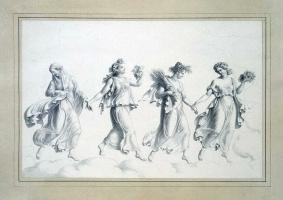 Юлиус Шоппе Старший. Танец времен года