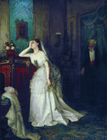 Firs Sergeevich Zhuravlev. After the wedding ceremony