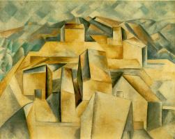 Пабло Пикассо. Дома на склоне