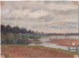 Arkady Pavlovich Laptev. The river