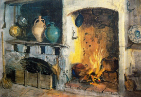 George Owen Wynne Upperley. Andalusian hearth