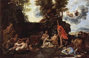 Nicola Poussin. The Birth Of Bacchus