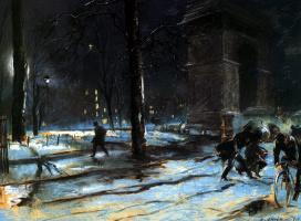 Эверетт Шинн. Ночь