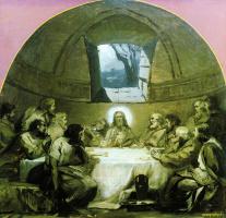 Генрих Ипполитович Семирадский. Эскиз  росписи храма Христа Спасителя в Москве