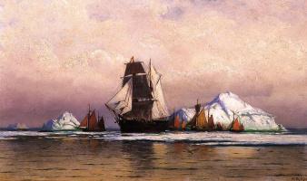 Уильям Брэдфорд. Рыбопромысловый флот от Лабрадора