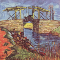 Vincent van Gogh. Bridge Anglua