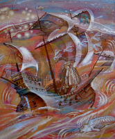 Alexander (Александр) Stepanovish (Степанович) Shynin (Шинин). Большому кораблю-большое плавание