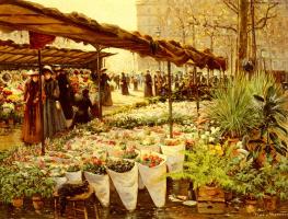 Теодор фон Хоерманн. Цветы