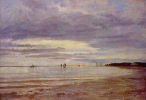 Johann Jacob Gensler. Coast near Blankenese