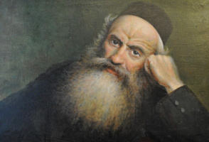 Yudel Pen. Portrait of an old Jew