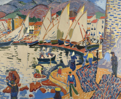 Andre Derain. The Drying Sails