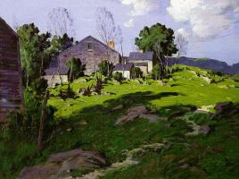 Джордж М. Бпуестл. Зеленая трава