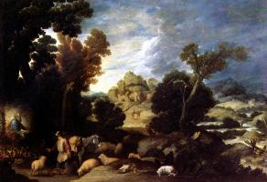 Франсиско Коллантес. Бог приказывает Моисею вывести израильтян из Египта