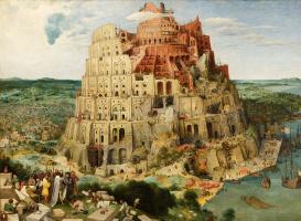 Pieter Bruegel The Elder. The tower of Babel