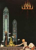 Кей Нильсен. Иллюстрация к  сказке  На восток от солнца, на запад от луны 10