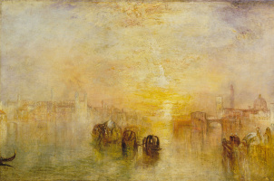 Joseph Mallord William Turner. The path to the ball (San Martino)