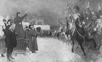 Михаил Иванович Авилов. Приезд товарища Сталина в Первую Конную армию.