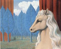 René Magritte. Pure reason
