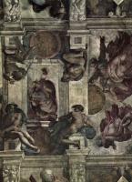 Микеланджело Буонарроти. Отделение света от тьмы и земной тверди от воды